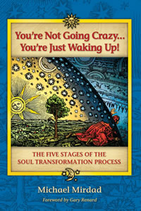 Not going crazy, waking up, Michael Mirdad: the five stages of the soul transformation process
