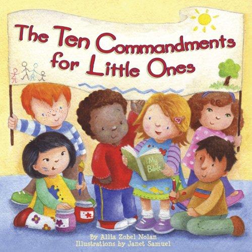 Commandments kids 10 for Children's Sermons